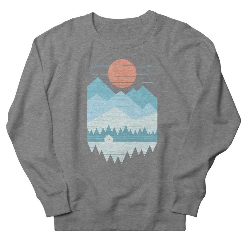 Cabin In The Snow Men's Sweatshirt by thepapercrane's shop