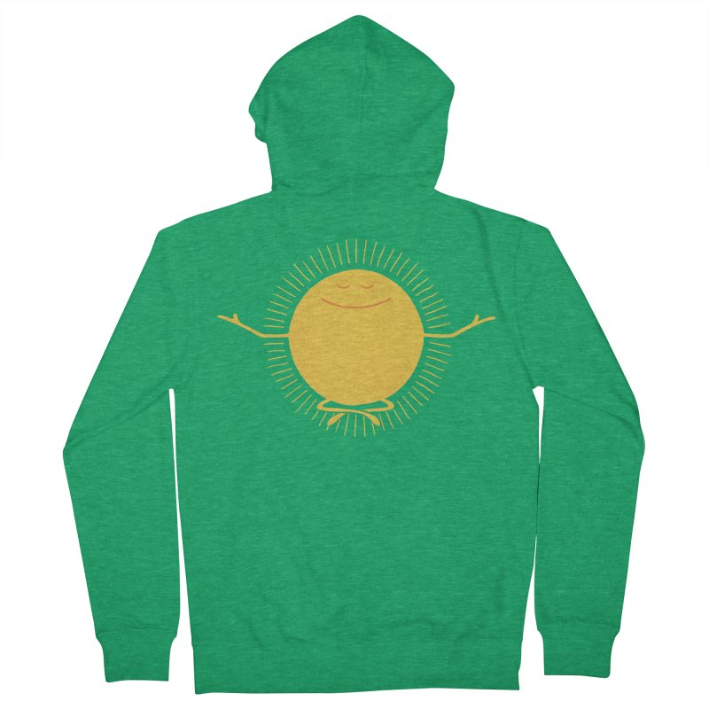 Sun Worshipper Women's Zip-Up Hoody by thepapercrane's shop