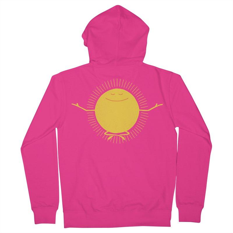 Sun Worshipper Men's Zip-Up Hoody by thepapercrane's shop