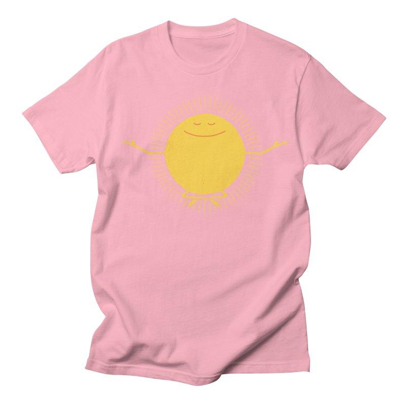 Sun Worshipper Men's T-shirt by thepapercrane's shop