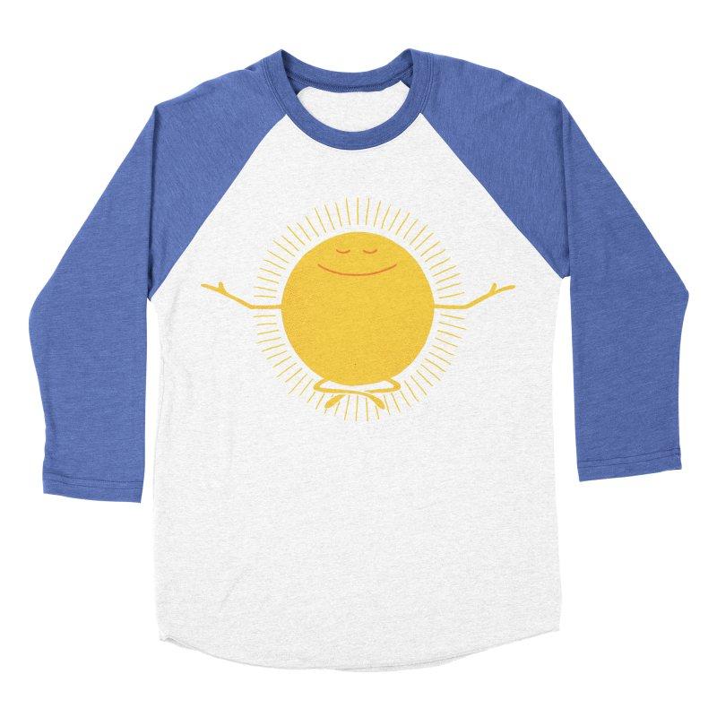 Sun Worshipper Women's Baseball Triblend T-Shirt by thepapercrane's shop