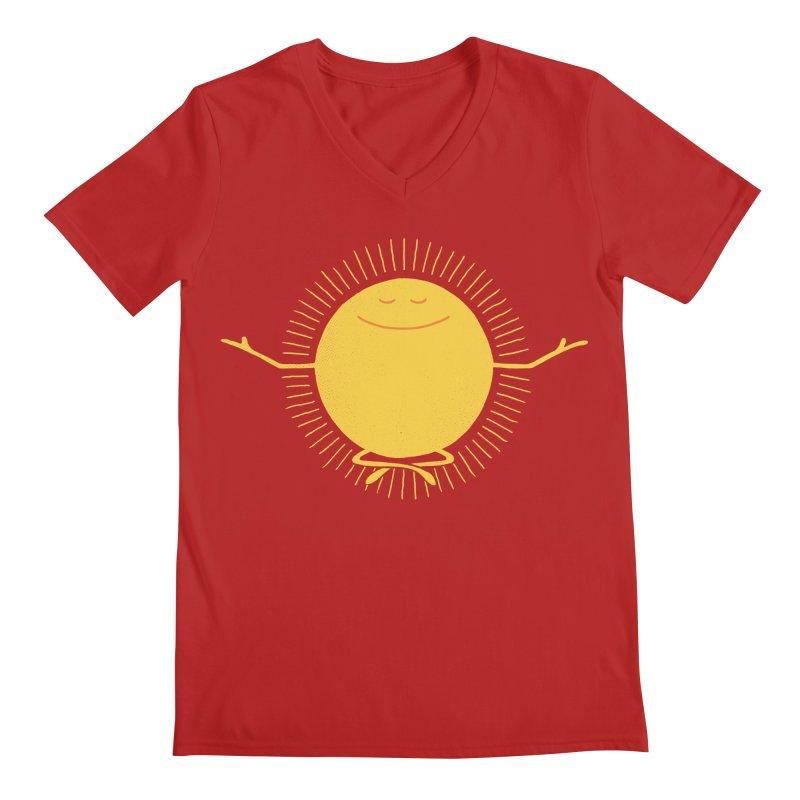 Sun Worshipper Men's V-Neck by thepapercrane's shop