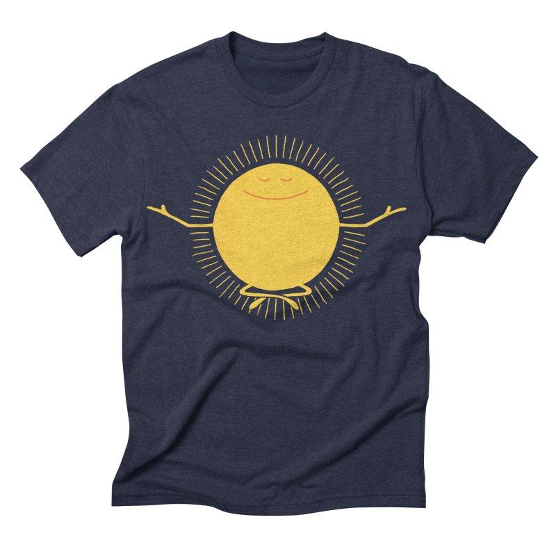 Sun Worshipper Men's Triblend T-shirt by thepapercrane's shop