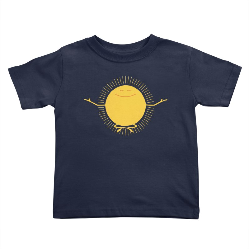 Sun Worshipper Kids Toddler T-Shirt by thepapercrane's shop
