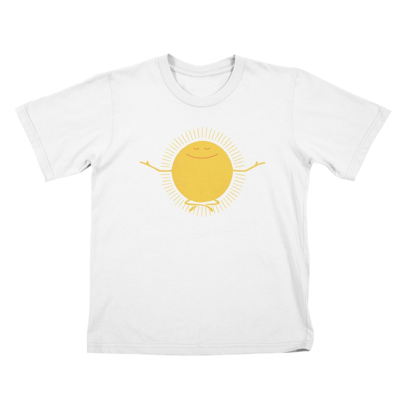 Sun Worshipper Kids T-shirt by thepapercrane's shop