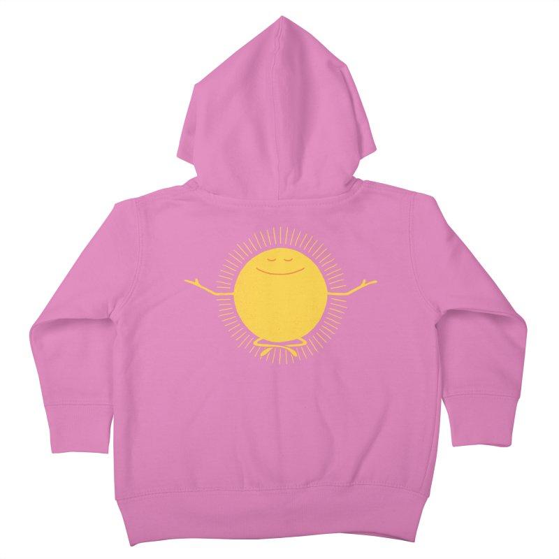 Sun Worshipper Kids Toddler Zip-Up Hoody by thepapercrane's shop