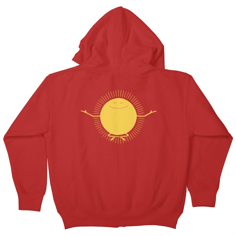 Sun Worshipper Kids Zip-Up Hoody by thepapercrane's shop