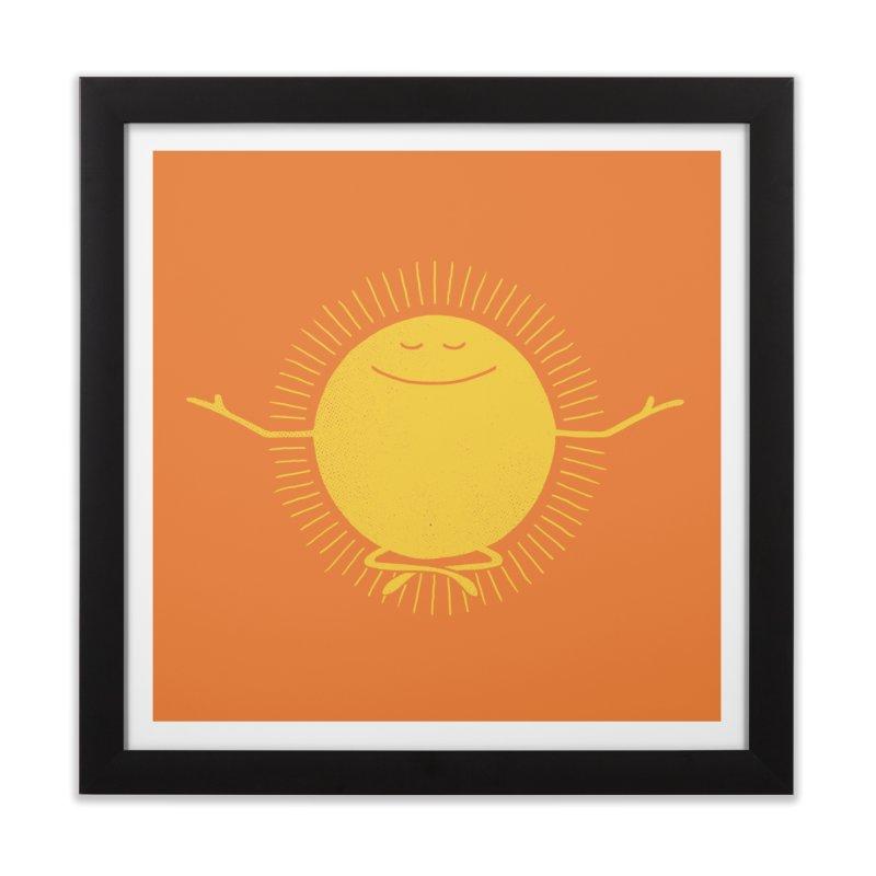 Sun Worshipper Home Framed Fine Art Print by thepapercrane's shop