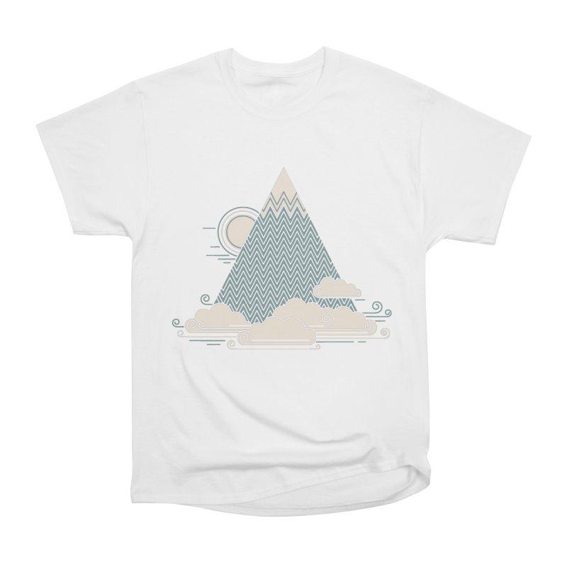 Cloud Mountain Women's Classic Unisex T-Shirt by thepapercrane's shop