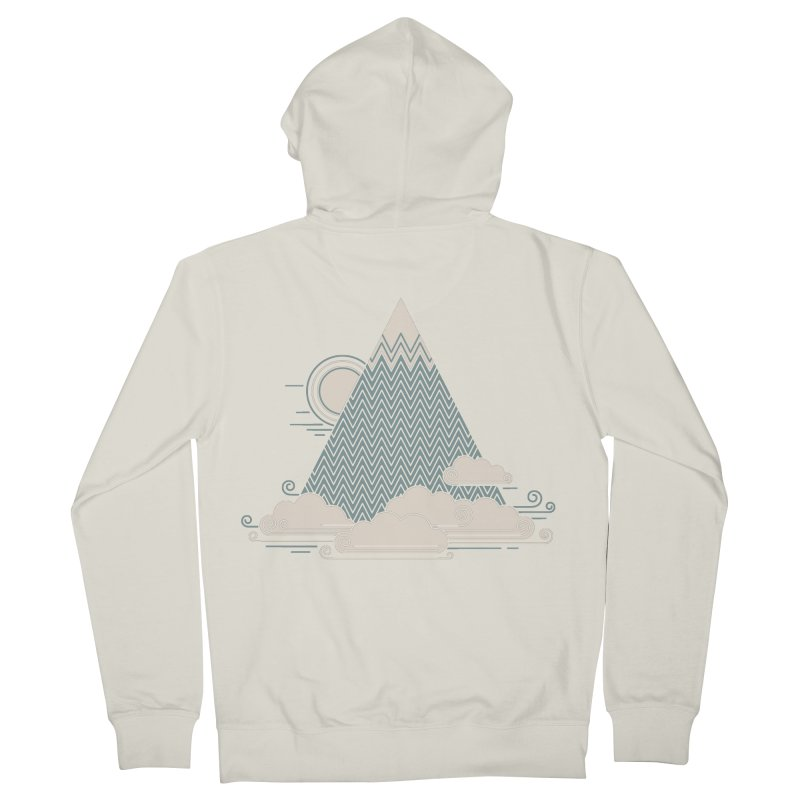 Cloud Mountain Women's Zip-Up Hoody by thepapercrane's shop