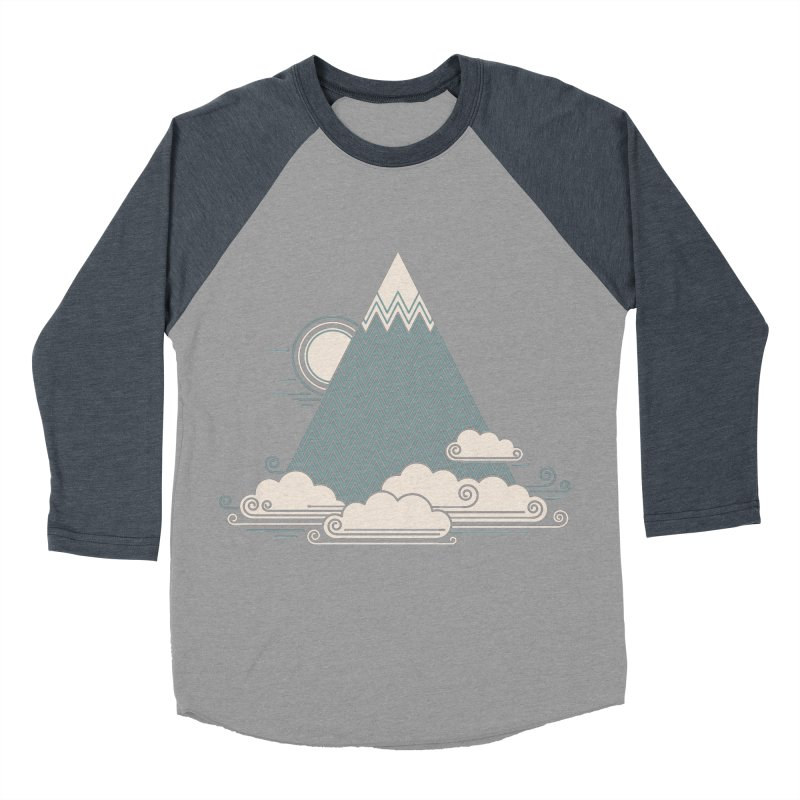 Cloud Mountain Women's Baseball Triblend T-Shirt by thepapercrane's shop