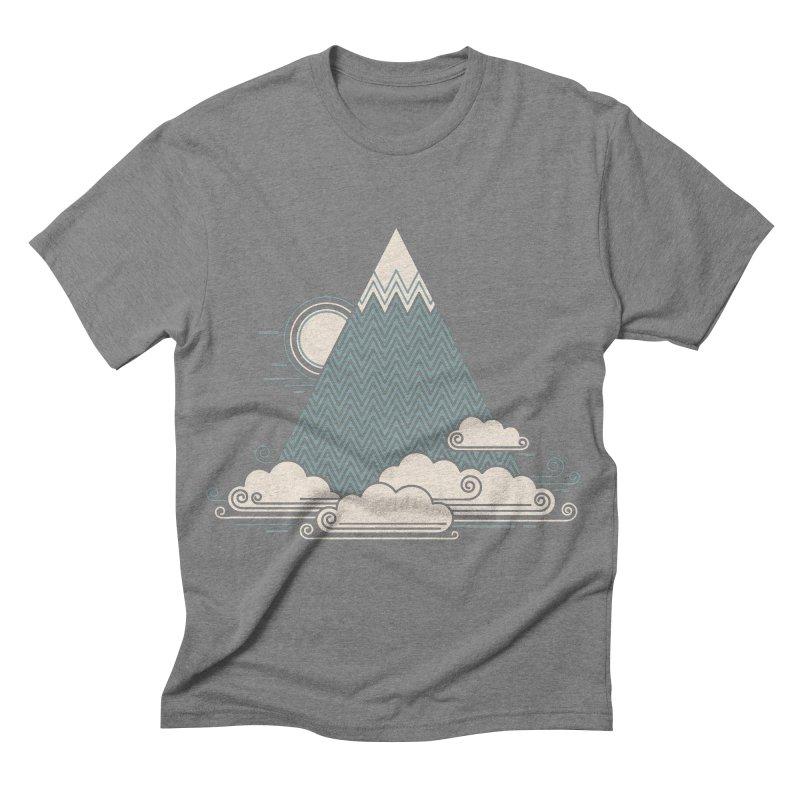 Cloud Mountain Men's Triblend T-shirt by thepapercrane's shop
