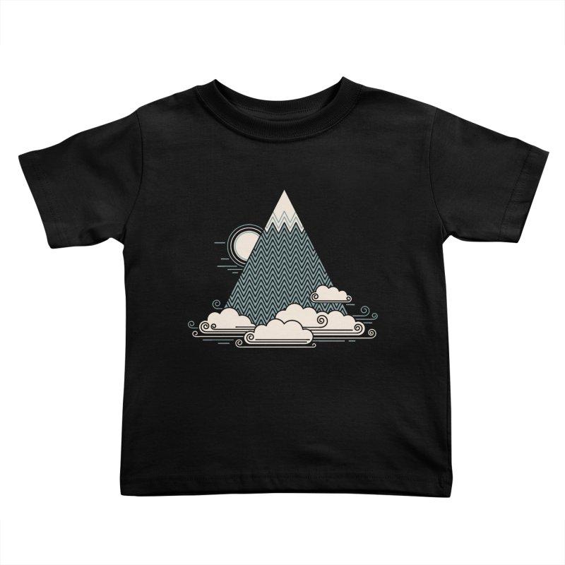 Cloud Mountain Kids Toddler T-Shirt by thepapercrane's shop