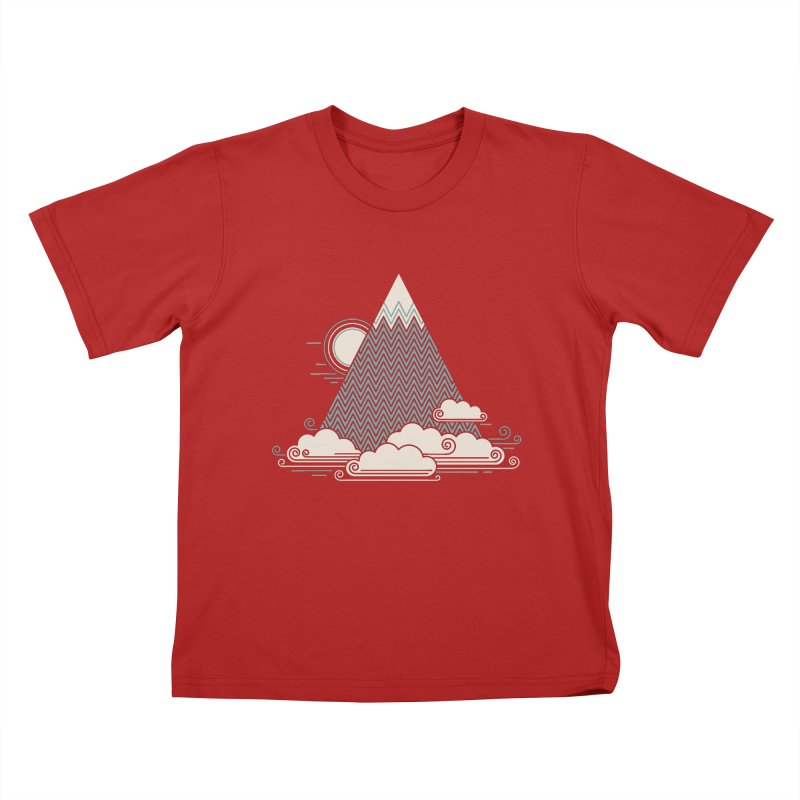Cloud Mountain Kids T-shirt by thepapercrane's shop