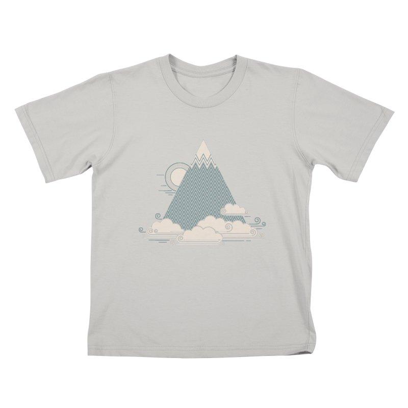 Cloud Mountain Kids T-shirt by thepapercrane's shop