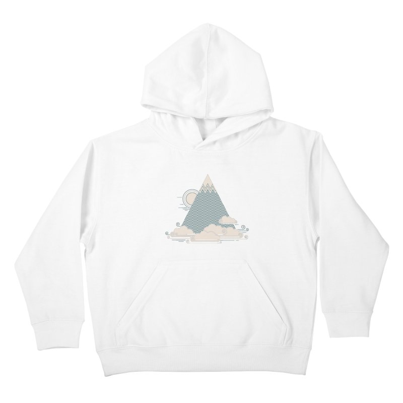 Cloud Mountain Kids Pullover Hoody by thepapercrane's shop