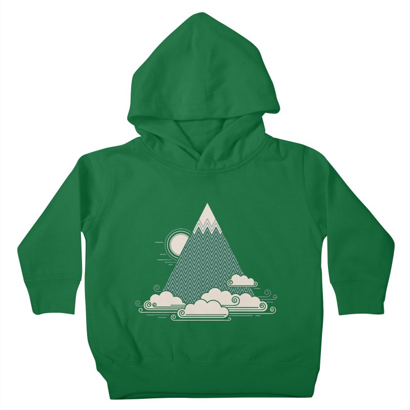 Cloud Mountain Kids Toddler Pullover Hoody by thepapercrane's shop