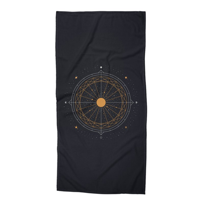Order Out Of Chaos Accessories Beach Towel by thepapercrane's shop