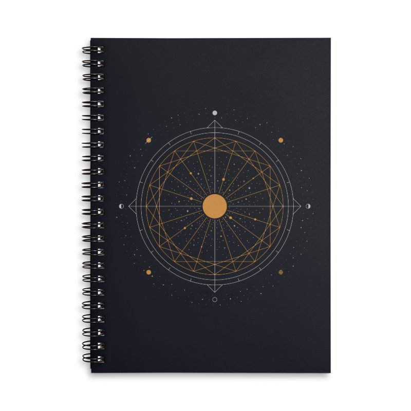 Order Out Of Chaos Accessories Lined Spiral Notebook by thepapercrane's shop