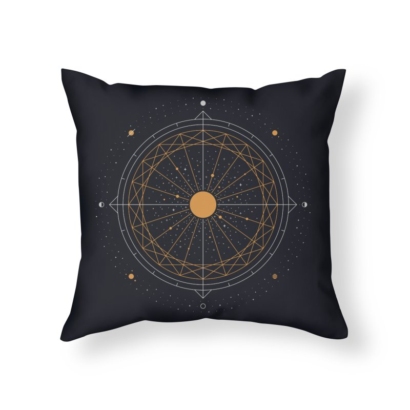 Order Out Of Chaos Home Throw Pillow by thepapercrane's shop