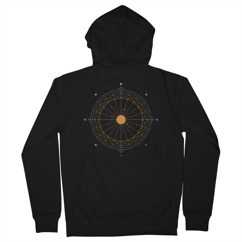 Order Out Of Chaos Women's French Terry Zip-Up Hoody by thepapercrane's shop