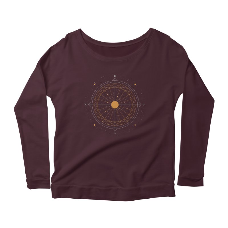 Order Out Of Chaos Women's Scoop Neck Longsleeve T-Shirt by thepapercrane's shop