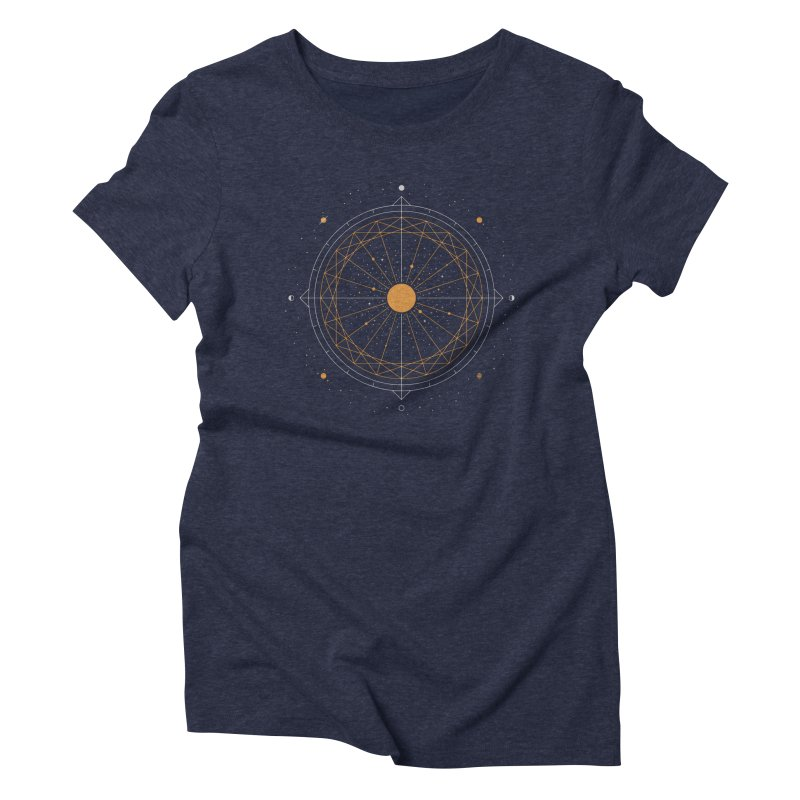 Order Out Of Chaos Women's Triblend T-Shirt by thepapercrane's shop