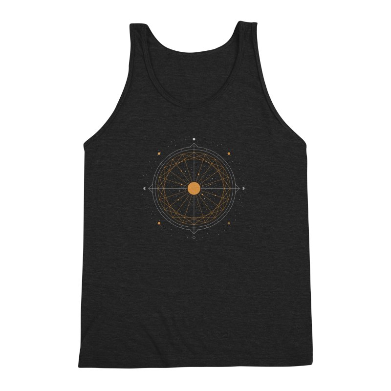 Order Out Of Chaos Men's Triblend Tank by thepapercrane's shop