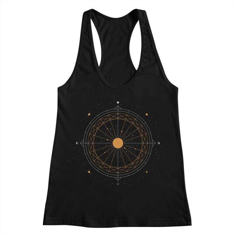 Order Out Of Chaos Women's Racerback Tank by thepapercrane's shop