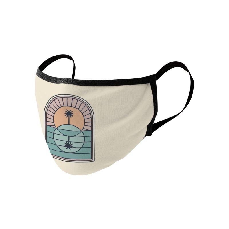 Venn Island Accessories Face Mask by thepapercrane's shop