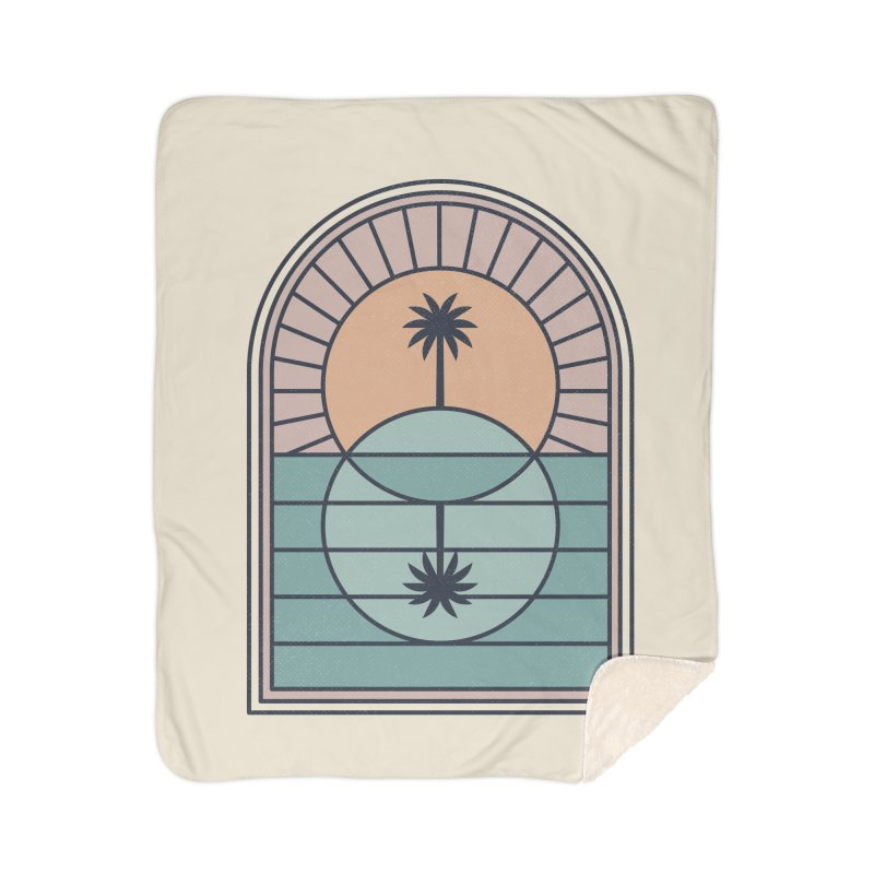 Venn Island Home Sherpa Blanket Blanket by thepapercrane's shop