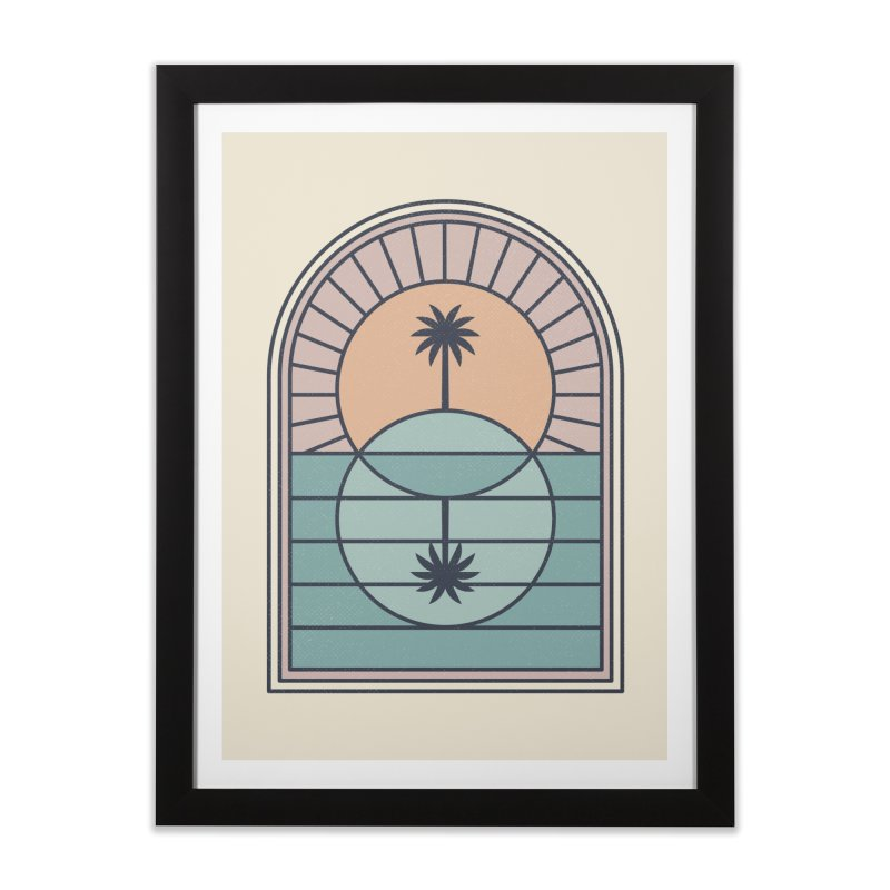 Venn Island Home Framed Fine Art Print by thepapercrane's shop