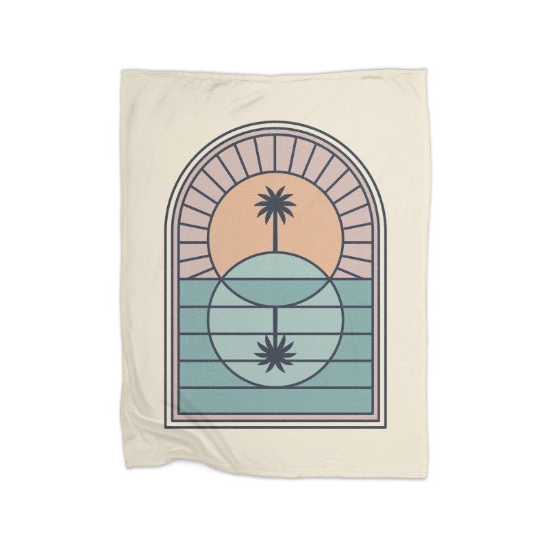 Venn Island Home Fleece Blanket Blanket by thepapercrane's shop