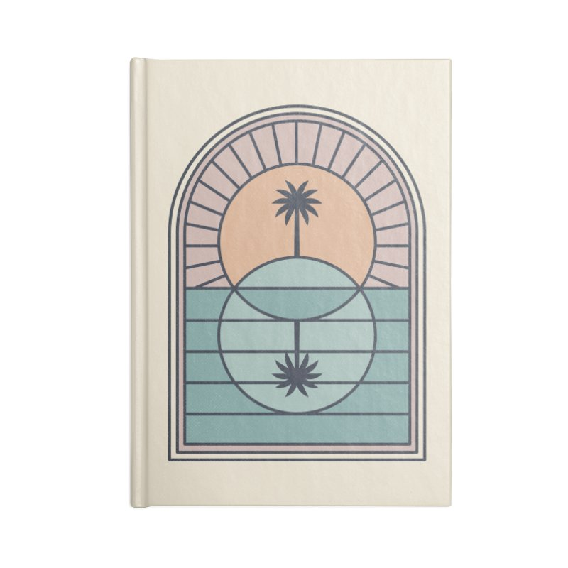 Venn Island Accessories Lined Journal Notebook by thepapercrane's shop
