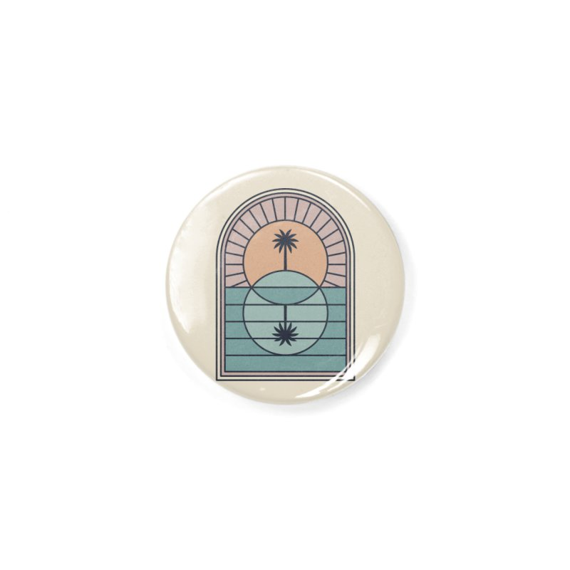 Venn Island Accessories Button by thepapercrane's shop