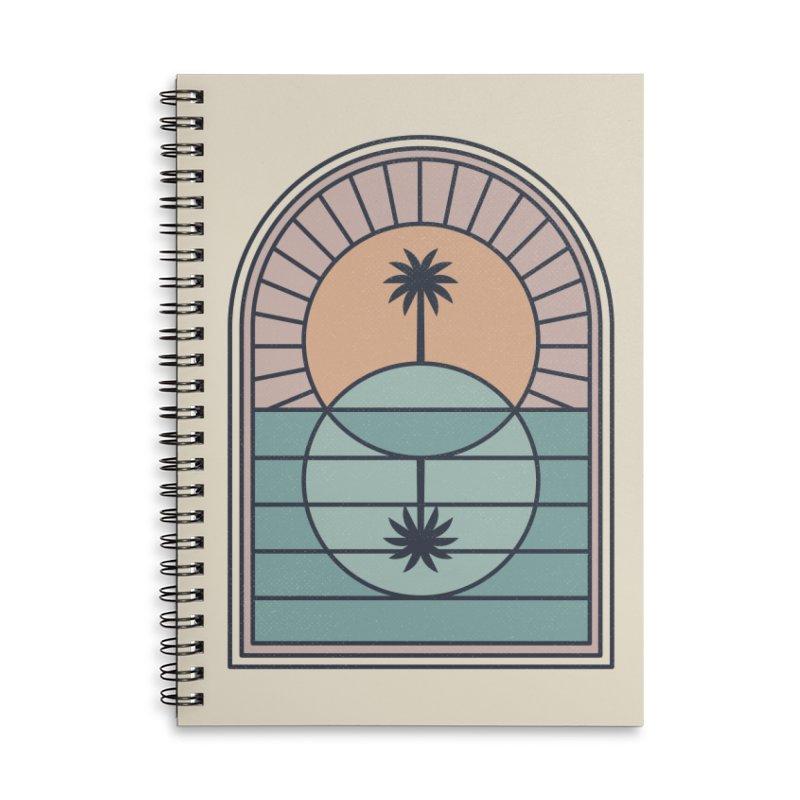Venn Island Accessories Lined Spiral Notebook by thepapercrane's shop