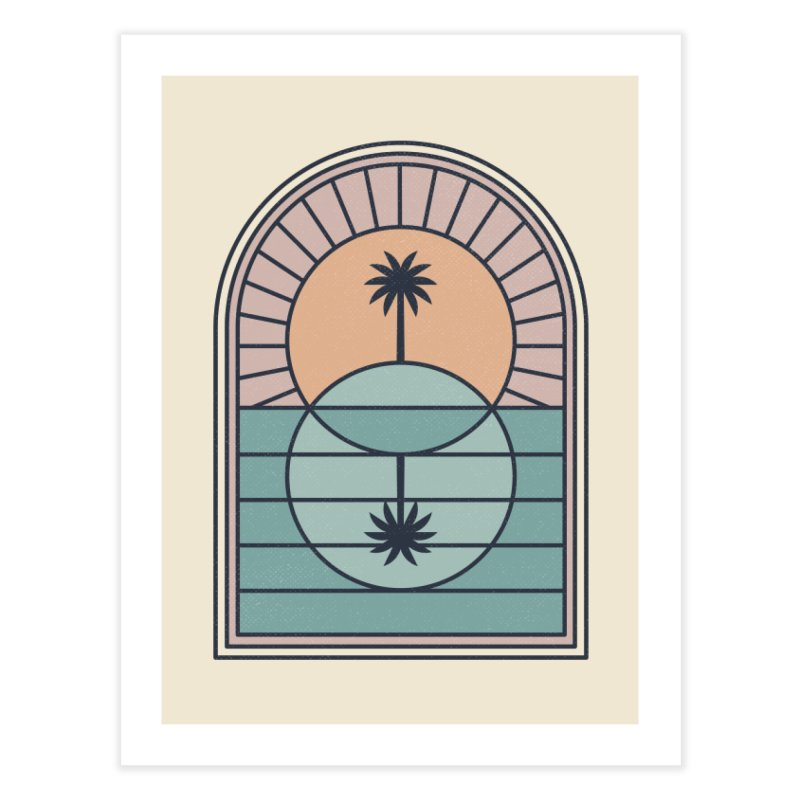Venn Island Home Fine Art Print by thepapercrane's shop