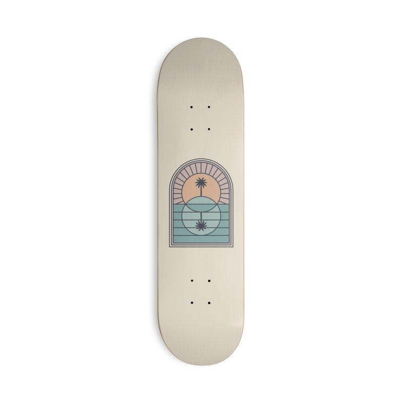 Venn Island Accessories Deck Only Skateboard by thepapercrane's shop