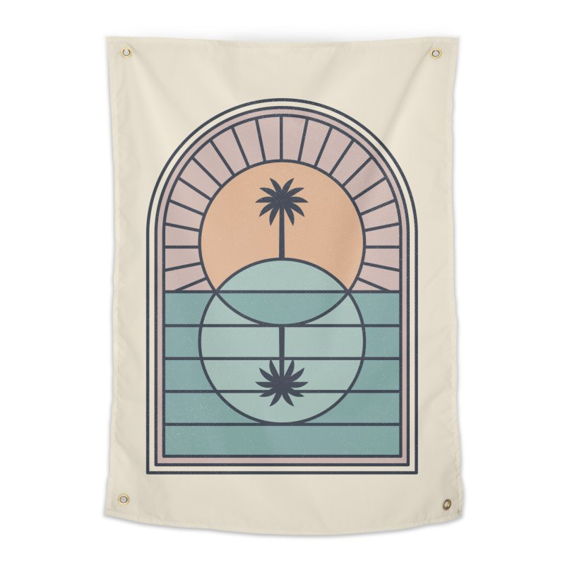 Venn Island Home Tapestry by thepapercrane's shop