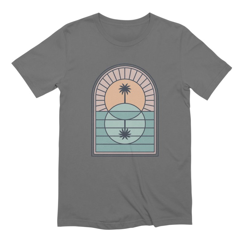 Venn Island Men's T-Shirt by thepapercrane's shop