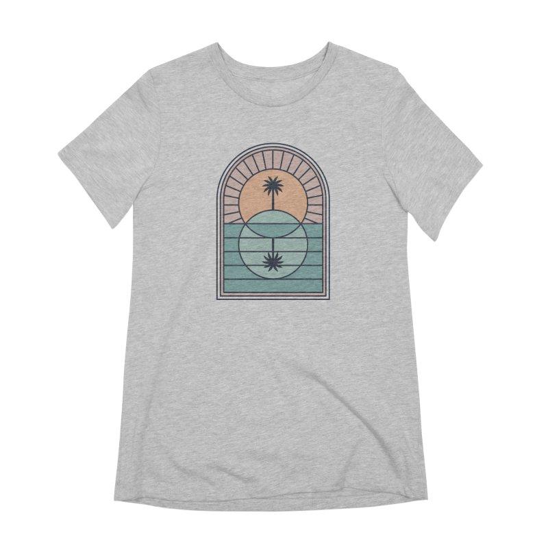 Venn Island Women's Extra Soft T-Shirt by thepapercrane's shop