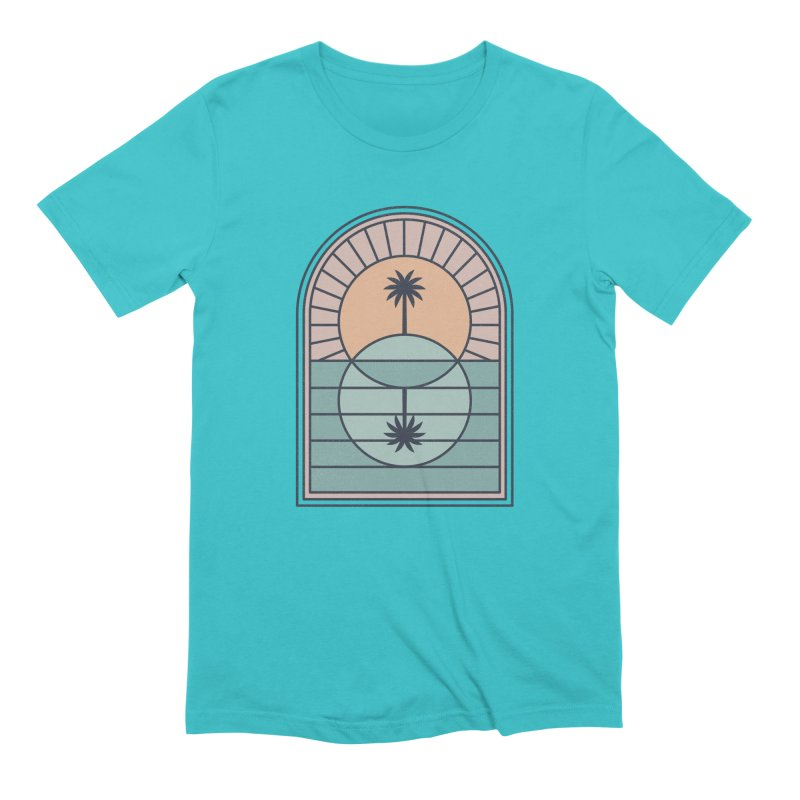 Venn Island Men's T-Shirt by thepapercrane's shop