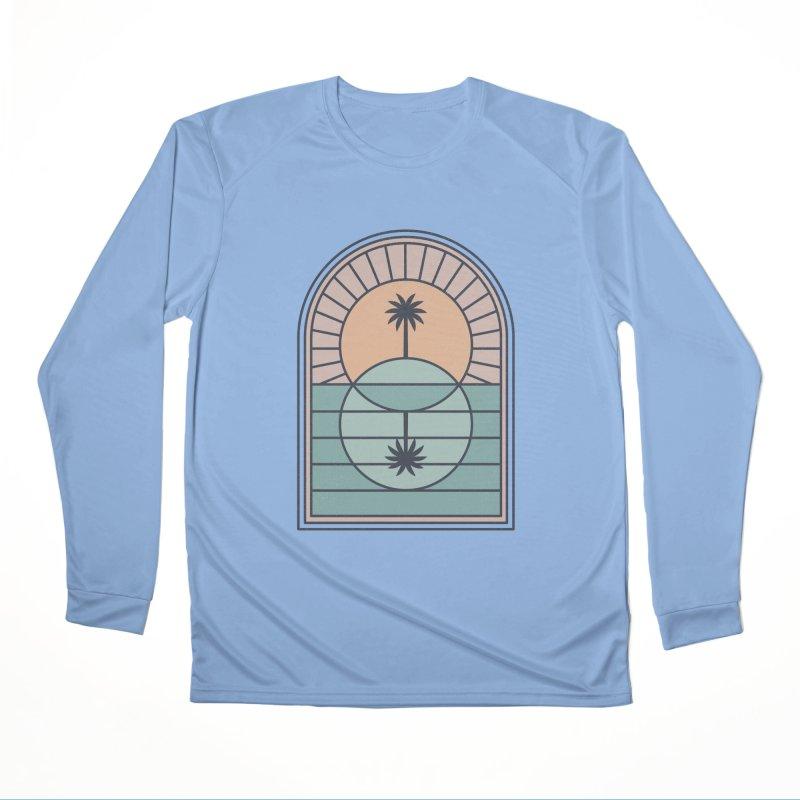 Venn Island Women's Longsleeve T-Shirt by thepapercrane's shop