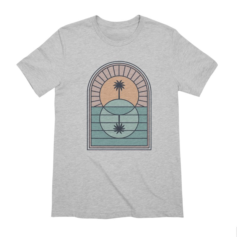 Venn Island Men's Extra Soft T-Shirt by thepapercrane's shop