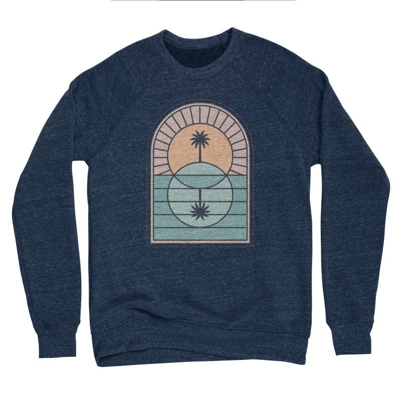 Venn Island Men's Sponge Fleece Sweatshirt by thepapercrane's shop