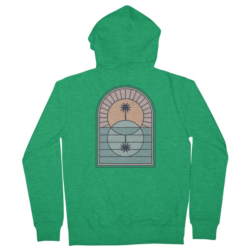 Venn Island Women's Zip-Up Hoody by thepapercrane's shop