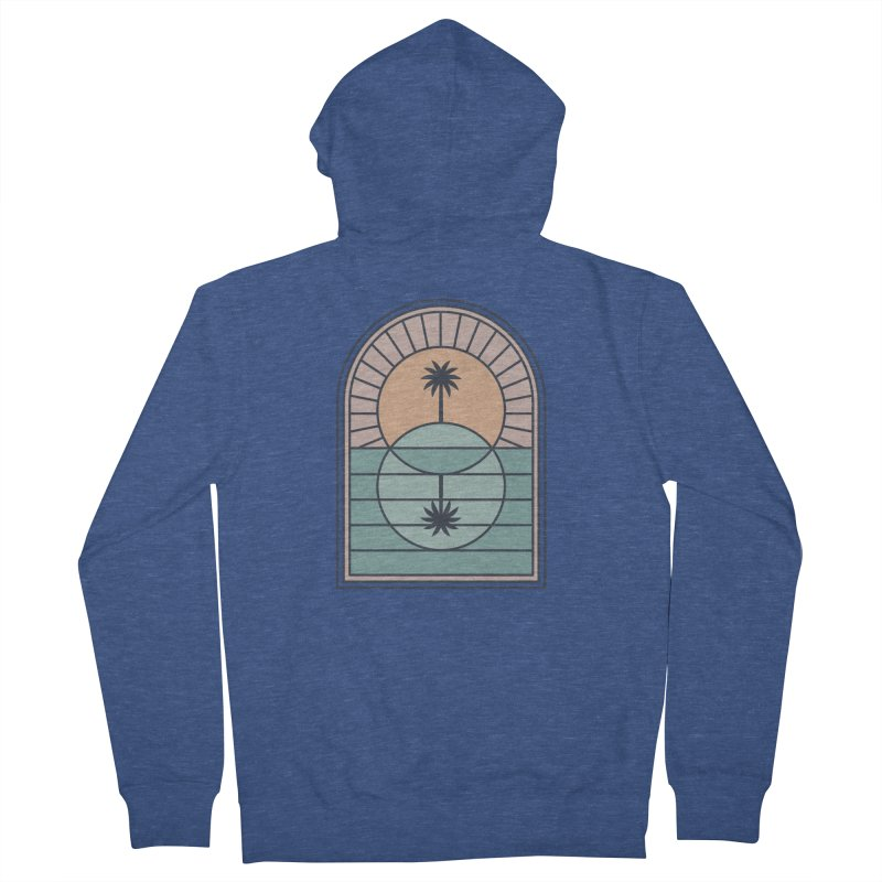 Venn Island Women's French Terry Zip-Up Hoody by thepapercrane's shop