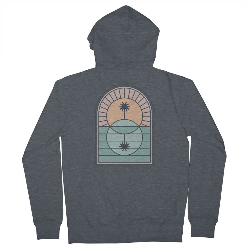 Venn Island Men's French Terry Zip-Up Hoody by thepapercrane's shop