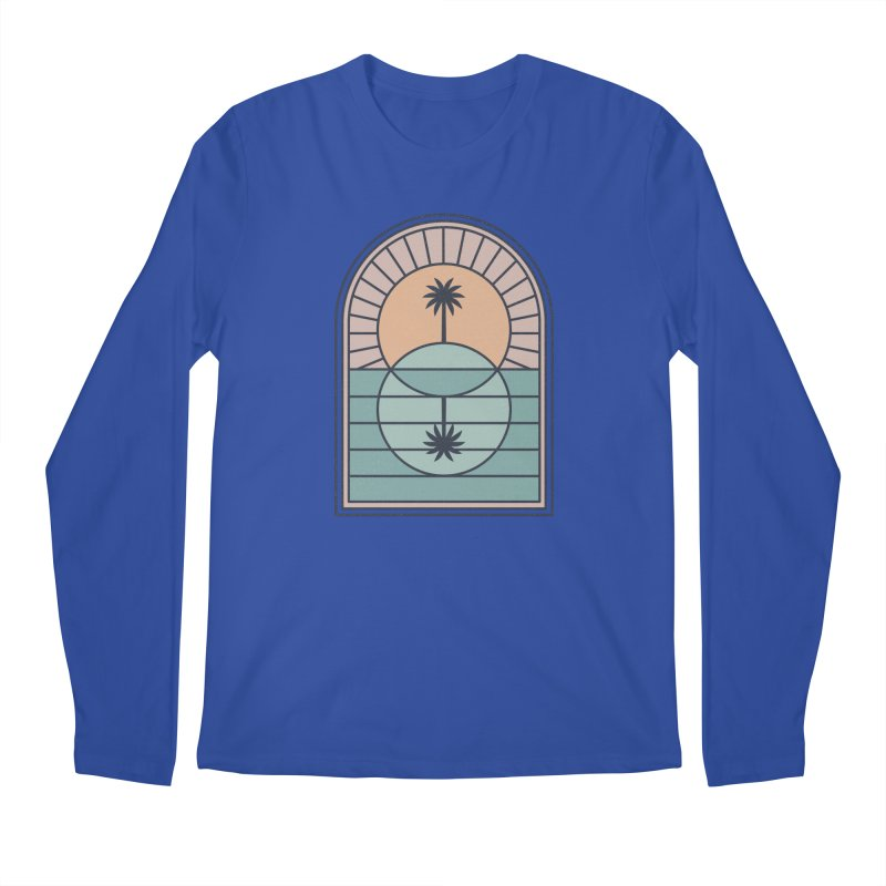 Venn Island Men's Regular Longsleeve T-Shirt by thepapercrane's shop