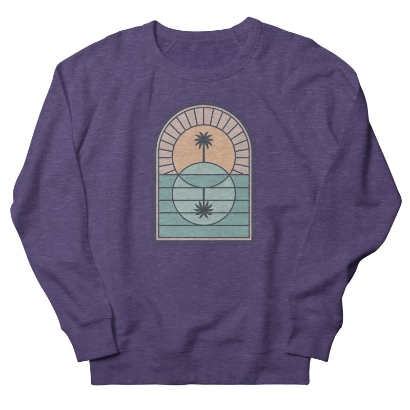 Venn Island Women's French Terry Sweatshirt by thepapercrane's shop